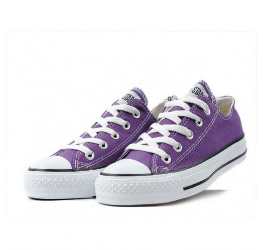 reputable site a2d1c 5dd1e Converse Shoes Purple Chuck Taylor All Star Classic Low