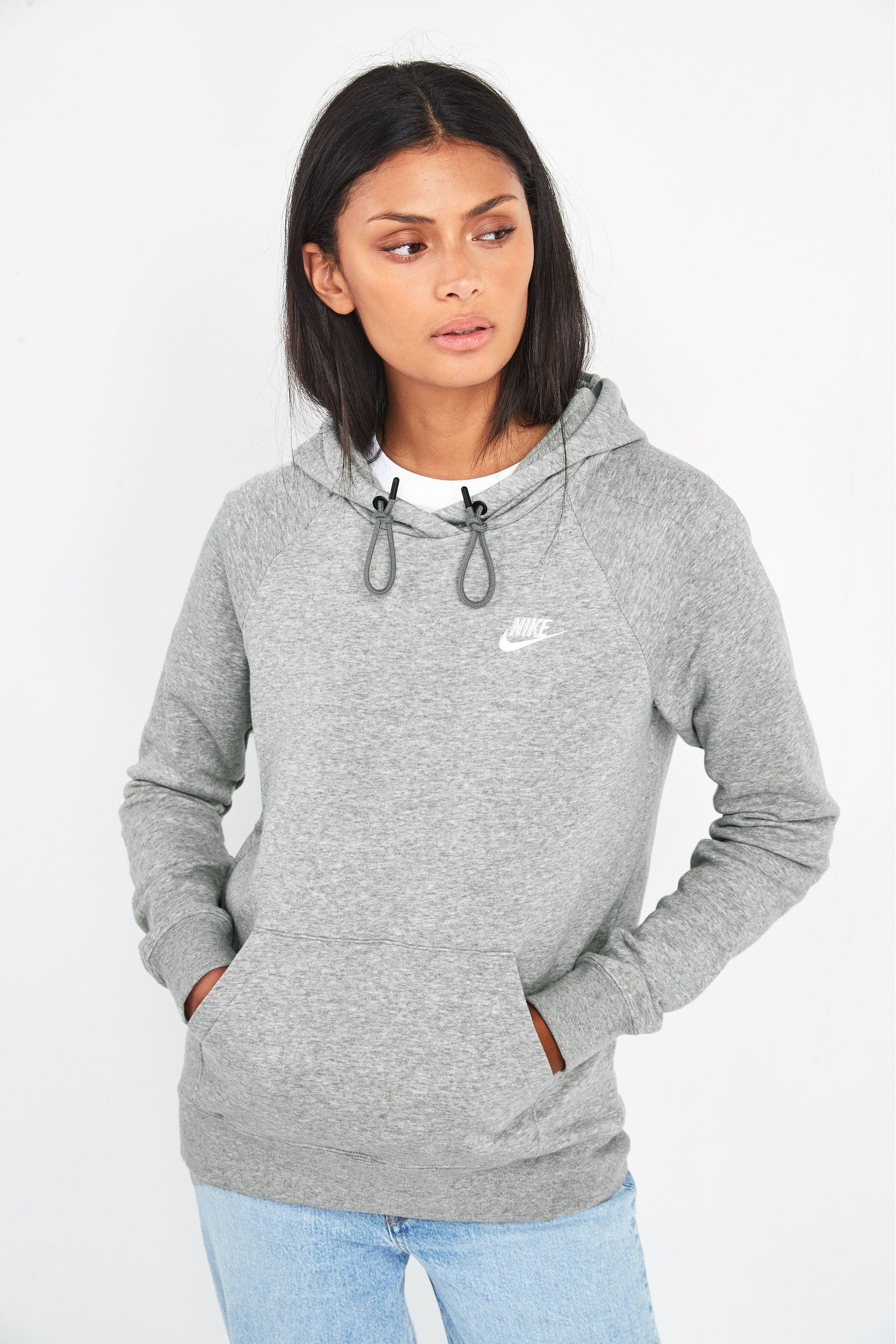 nike fleece overhead hoodie junior