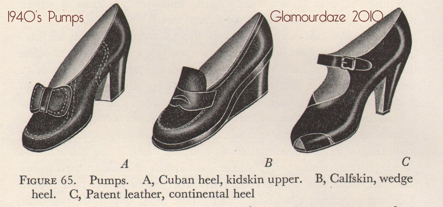 489f8e90a70b6 Vintage Style Shoes of the 1940's - A Shopping Guide | 1940's ...