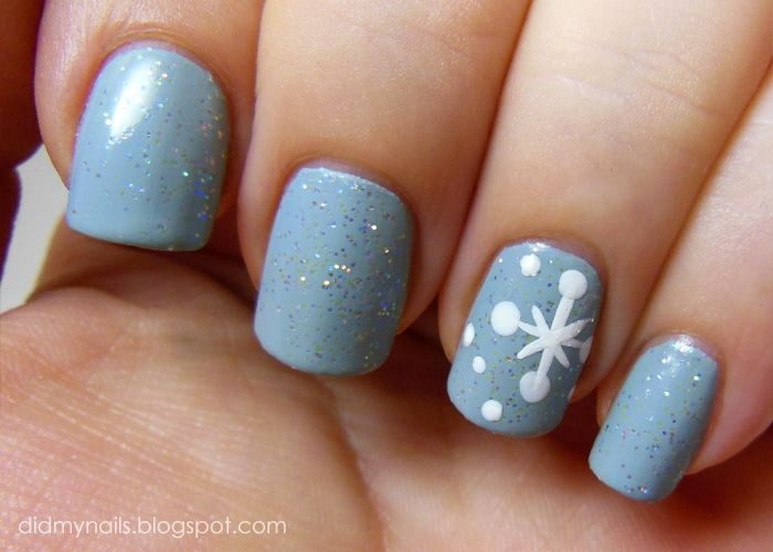 How to make snowflake nail art gallery nail art and nail design how to make snowflake nail art gallery nail art and nail design easy snowflake nail art prinsesfo Image collections