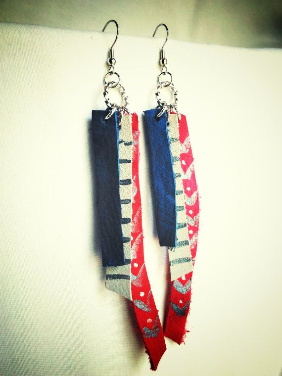 Check out this item in my Etsy shop https://www.etsy.com/listing/384789164/bohemian-leather-earrings-hippie