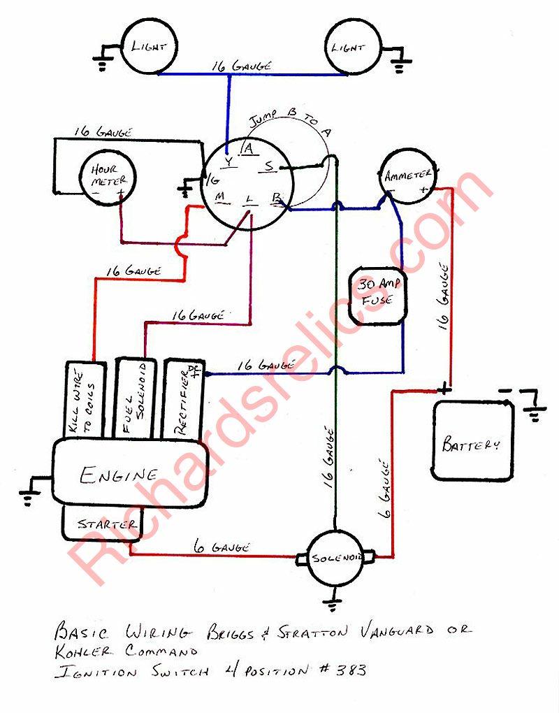 briggs and stratton ignition switch diagram - Google ...