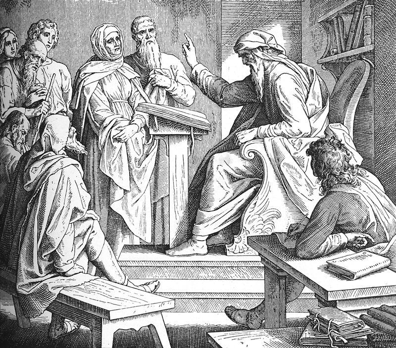 Bilder der Bibel - Ruhm der Weisheit und Furcht Gottes - Julius Schnorr von Carolsfeld