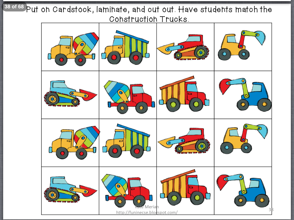 We Were In The Construction Zone In Prek Last Week I Wanted To Share A Great Story Activity