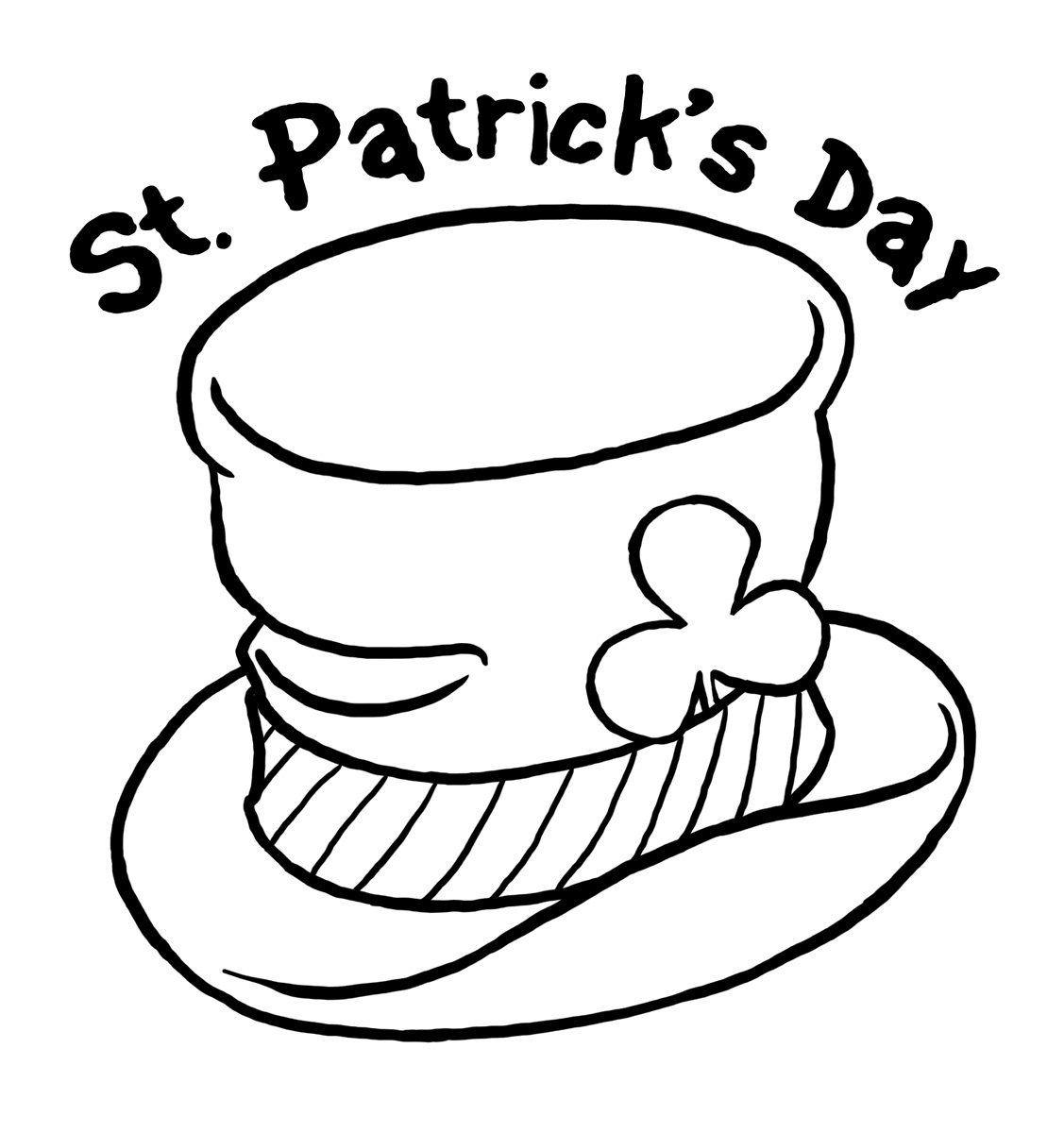 St Patricks Day Coloring Pages St. Patrick's Day