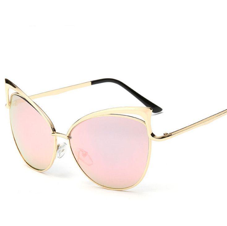 Cheap Ojo de gato las gafas de METAL vintage marco para mujer de ...