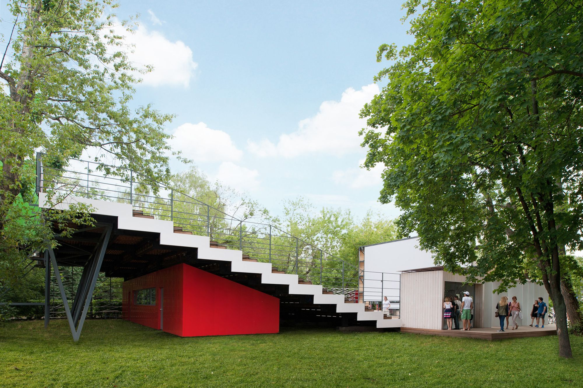 Summer cinema wowhaus architecture bureau urbanistica