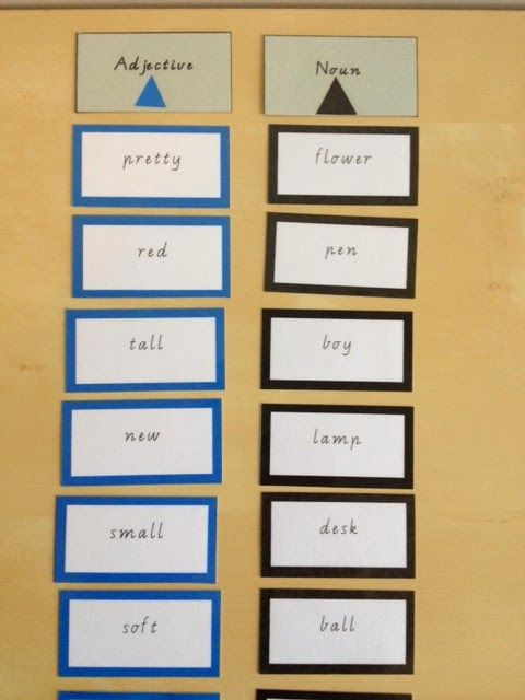 Elementary Observations: The Logical Adjective Game - good for ...