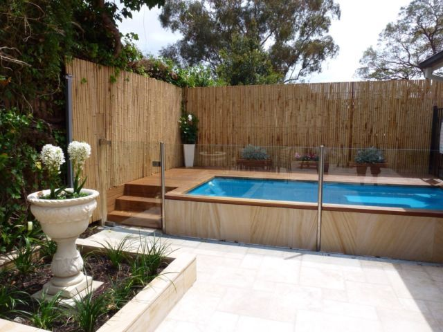 Details about Above Ground Courtyard Pool Kit 4m X 1.9m