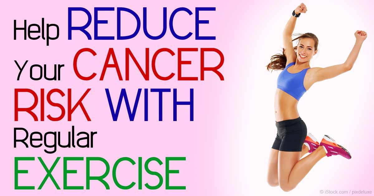 Exercise can help slash your risk of cancer, lessen risk of cancer recurrence, and also helps diminish your risk of dementia. http://fitness.mercola.com/sites/fitness/archive/2015/04/10/exercise-cancer-dementia.aspx