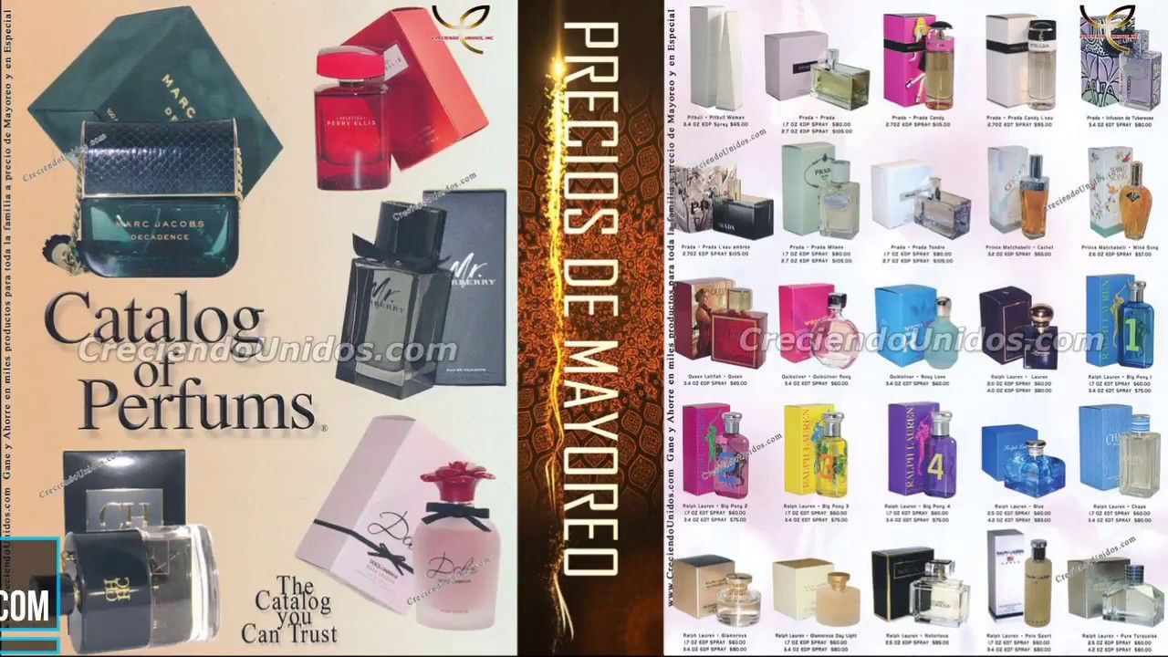 539 Perfumes por catalogo catalog of perfums originales por