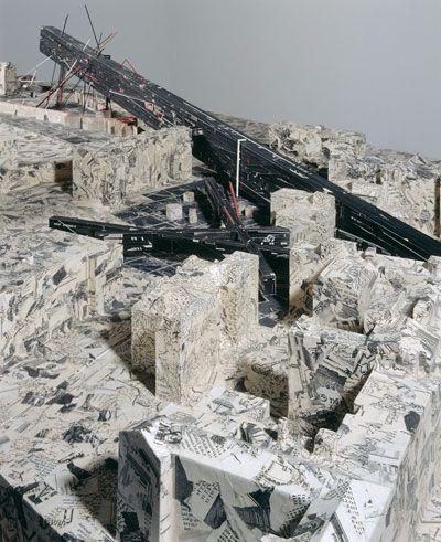 Berlin city edge bauausstellung site model 1987 draw model architecture daniel - Mobeltown berlin ...
