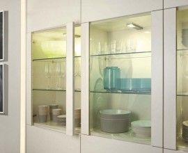 Modern Kitchen Wall Cabinets Gl Sliding Door For Design