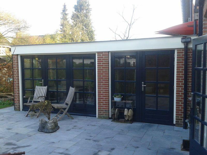 Fonkelnieuw garage verbouwen - Google Search   Garage kantoor, Ramen, Deuren KH-06