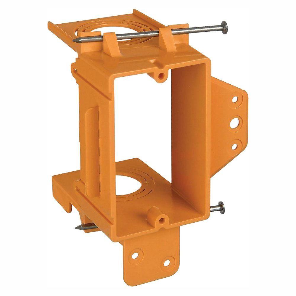 Carlon 1gang low voltage bracket case of 24sc100a