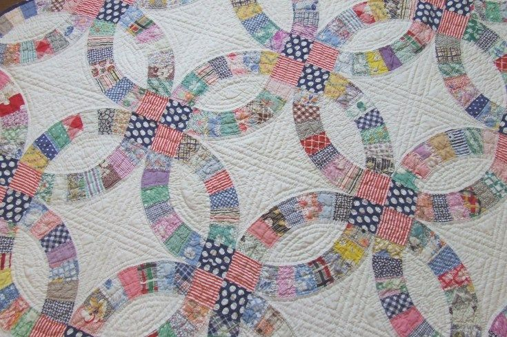 Easy Double Wedding Ring Quilt Pattern Wedding ring