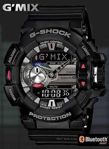 09465506f414 reloj casio gmix g-shock gba-400 bluetooth 100% original