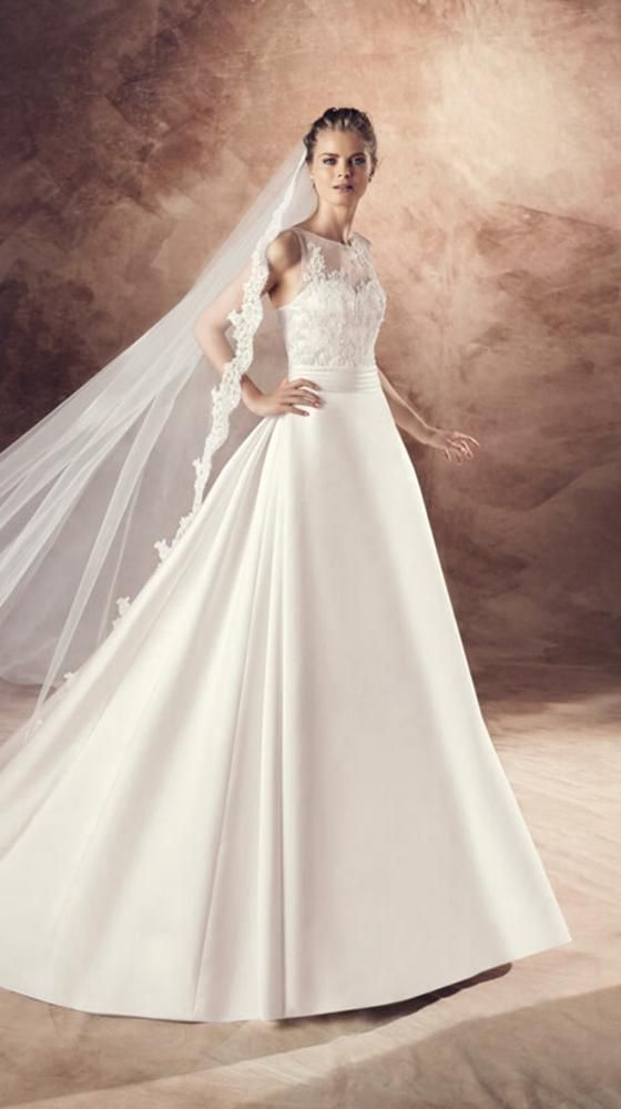 Avenue Diagonal Bridal Gown Style - ULMA | Bridal Dress | Pinterest ...