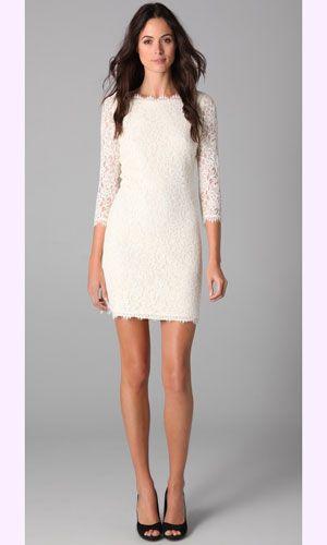 Seeing White: Stunning Bridal Shower Dresses | Bridal shower ...