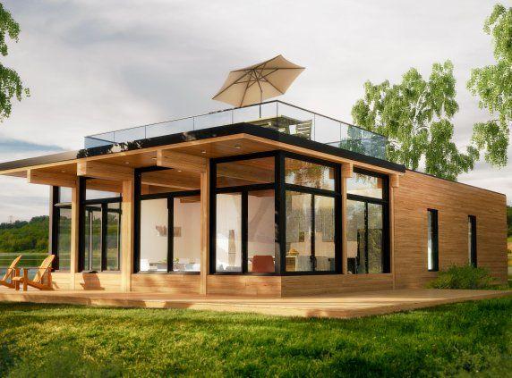 Bonneville micro nature maisons usin es lofts for Mini maison usinee