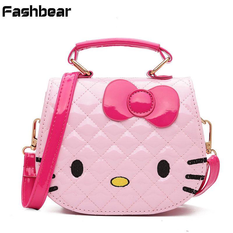 Wholesale Price + Free Shipping  Handbags Wholesale Young Girls Bag  Crossbody Bags For Baby Girls Pick PU Children Shoulder Bag Fashion Small  Kids Princess ... 279d14b484faf