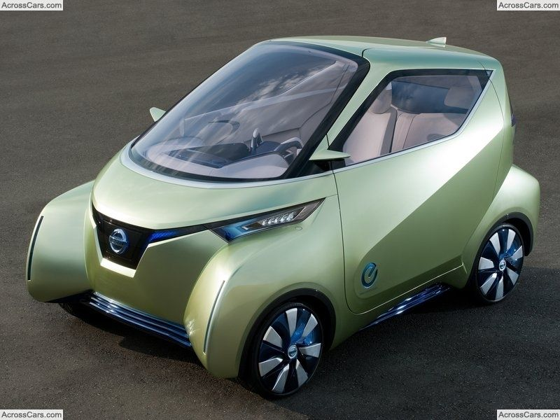Nissan Pivo 3 Concept (2011) Nissan, Hybrid car