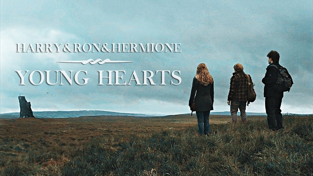 Harry + Ron + Hermione | Young hearts