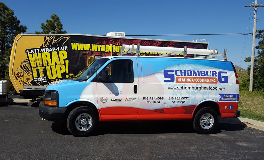 Schomburg Van Wrap Van Wrap Car Wrap Custom Wraps