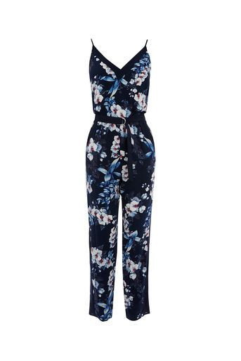 26f10b875fac Oasis, TROPICAL BOTANICAL JUMPSUIT Multi Blue | S/S 2017 | Fashion ...