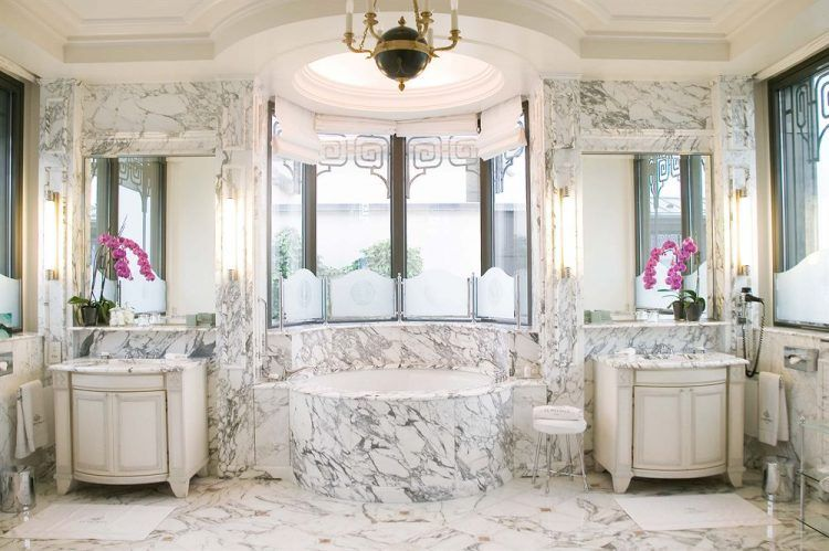 the 10 most stunning marble bathrooms of 2016