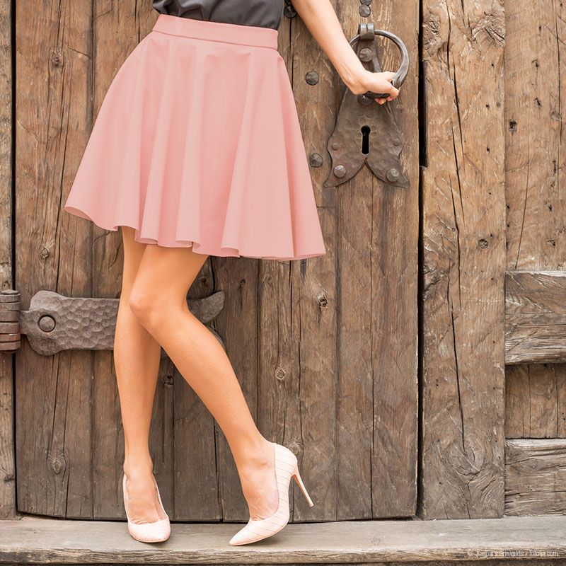 Klassiker mit Schwung: Tellerrock selber nähen | Sewing | Pinterest ...