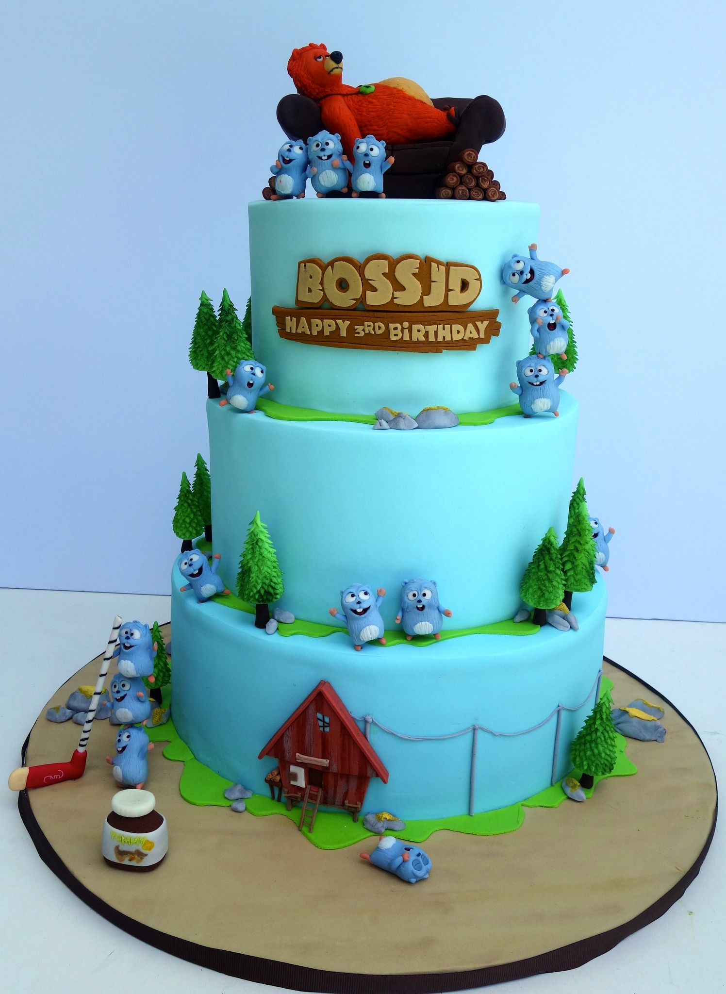 Pin de joselin mu oz en oso pinterest gateau - Dessin de grizzly ...
