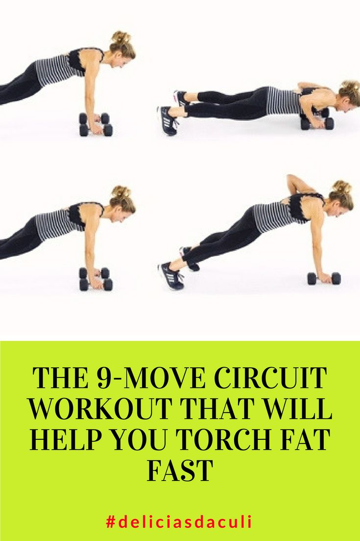 The 9-Move Circuit Workout That Will Help You Torch Fat Fast