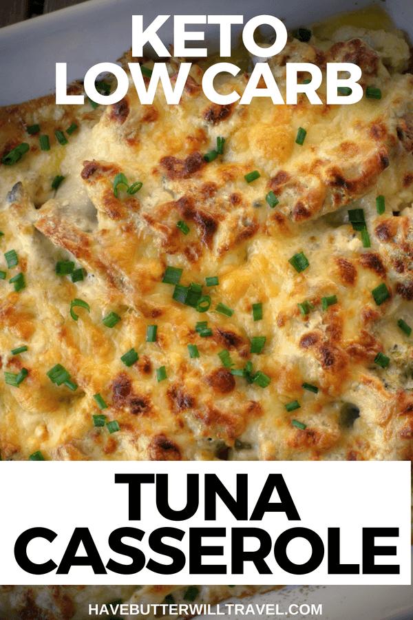 Keto Tuna Mornay #ketodinnerrecipes