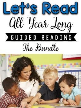 This Guided Reading All Year Long packet includes 4 differentiated nonfiction passages, and 4 differentiated fiction passages (24 passages in all) per month. This packet is perfect for small group Guided Reading.