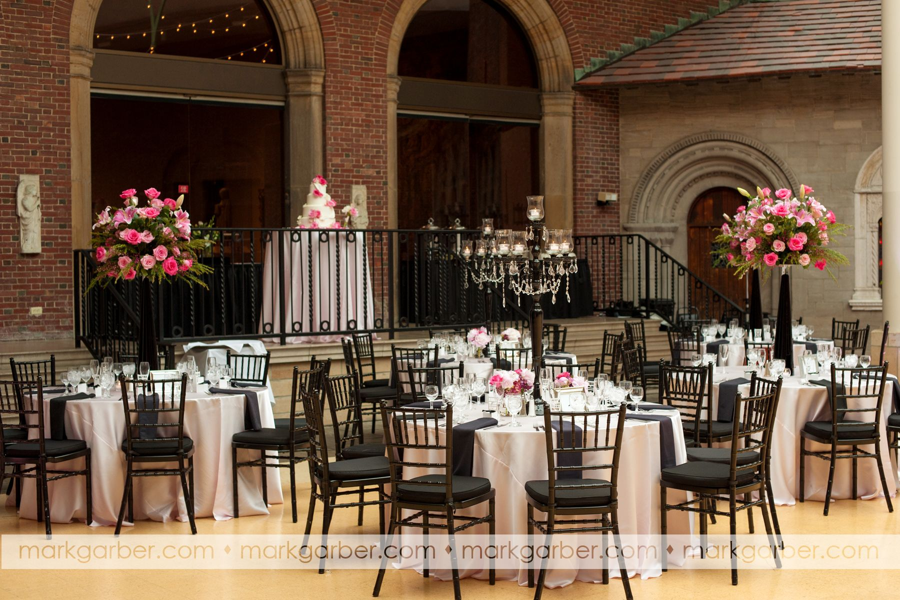 Dayton Art Insute Pink Blackandwhite Weddings Events Primetimepr