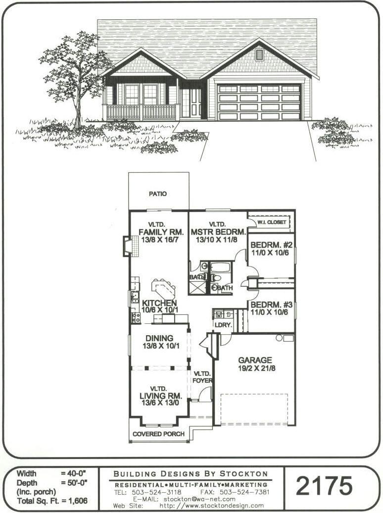 Building Designs By Stockton Plan 2175 Building Design House Plans Barndominium Floor Plans