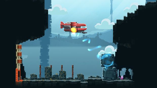 Open World Platformer Space Shooter A N N E Is A Retro Buffet