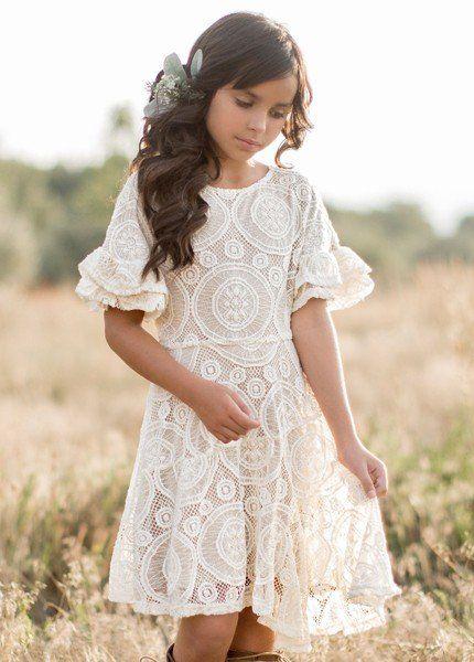 16e6241956a Joyfolie Emilia Dress in Cream Preorder