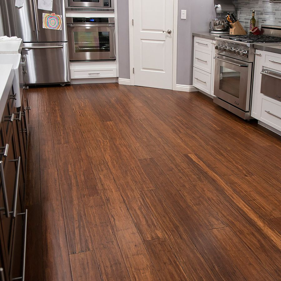Shop Cali Bamboo Prefinished Antique Java Bamboo Hardwood Flooring 21 5 Sq Ft At Lowes Co Bamboo Hardwood Flooring Vinyl Wood Flooring Wood Floors Wide Plank
