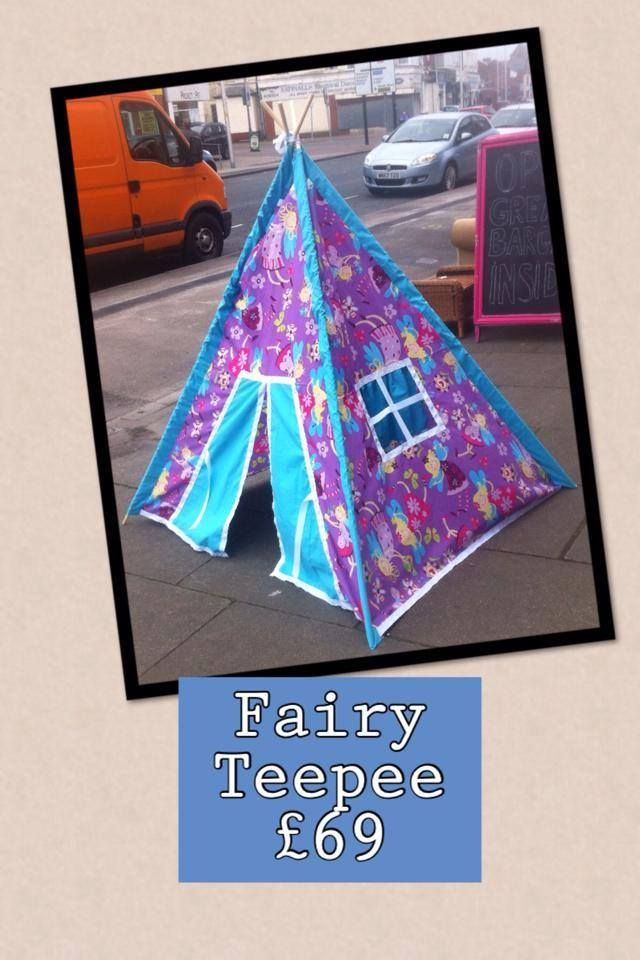 Fairy Tepee Play Tent - The Supermums Craft Fair