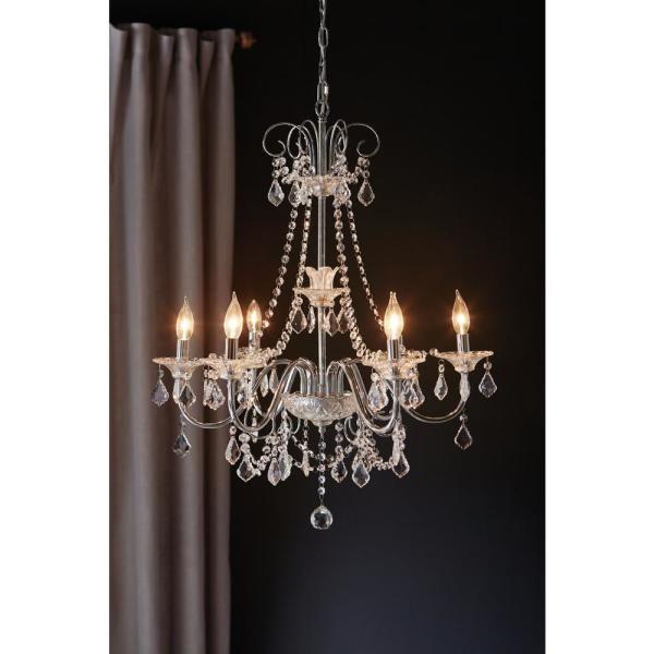 Home Decorators Collection Canterbury Park 6-Light Chrome ...