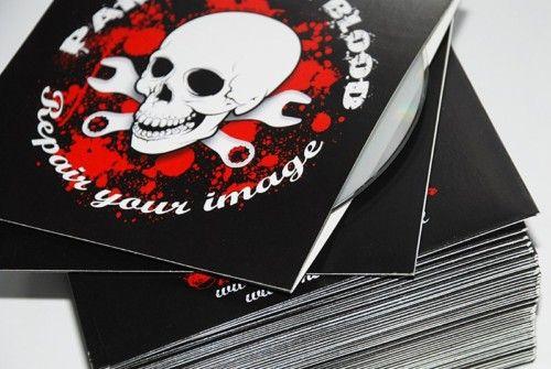 50 CD / DVD cardboard sleeves custom covers | eBay