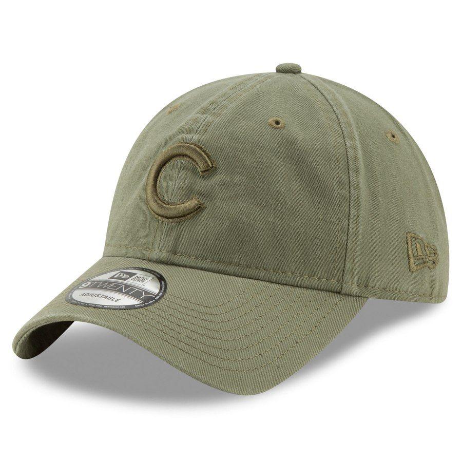 wholesale dealer 009c7 a5248 Men s Chicago Cubs New Era Green Tonal Bark Core Classic 9TWENTY Adjustable  Hat, Your Price