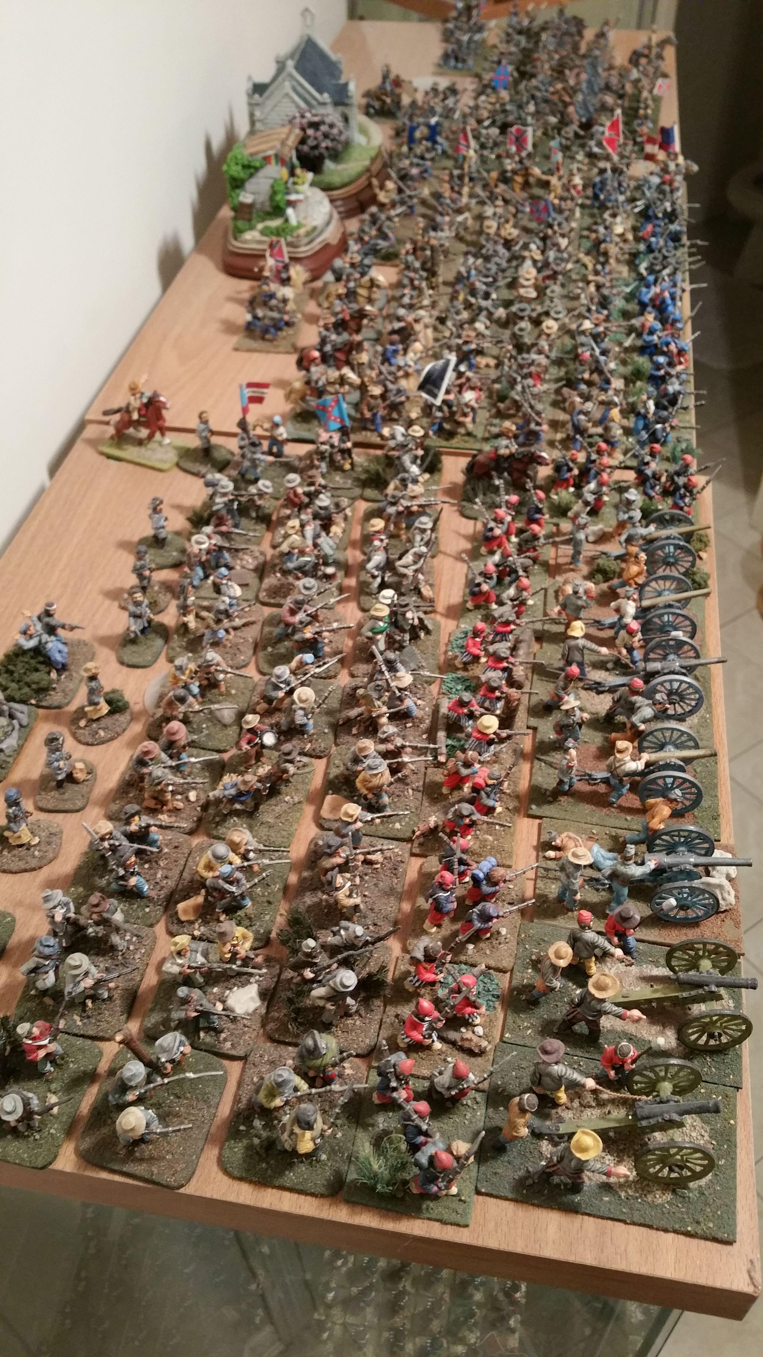 American Civil War 28mm Confederate Army Civil War Art Military Diorama Military Figures