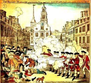 Persuasive Essays Examples For High School Paul Reveres Famous Painting On The Start Of The Boston Massacre English Essays For Kids also Essays About High School Paul Reveres Famous Painting On The Start Of The Boston Massacre  Cheap Essay Papers