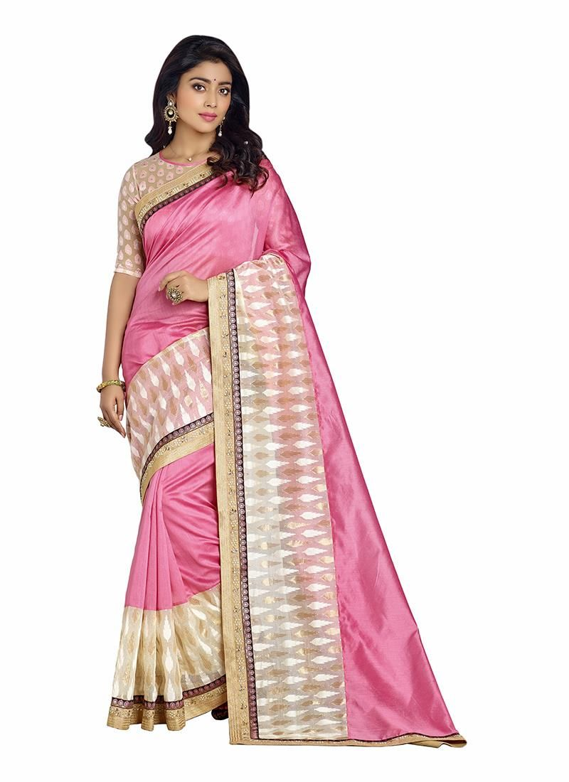 Surpassing Embroidered Work Banarasi Silk Designer Saree
