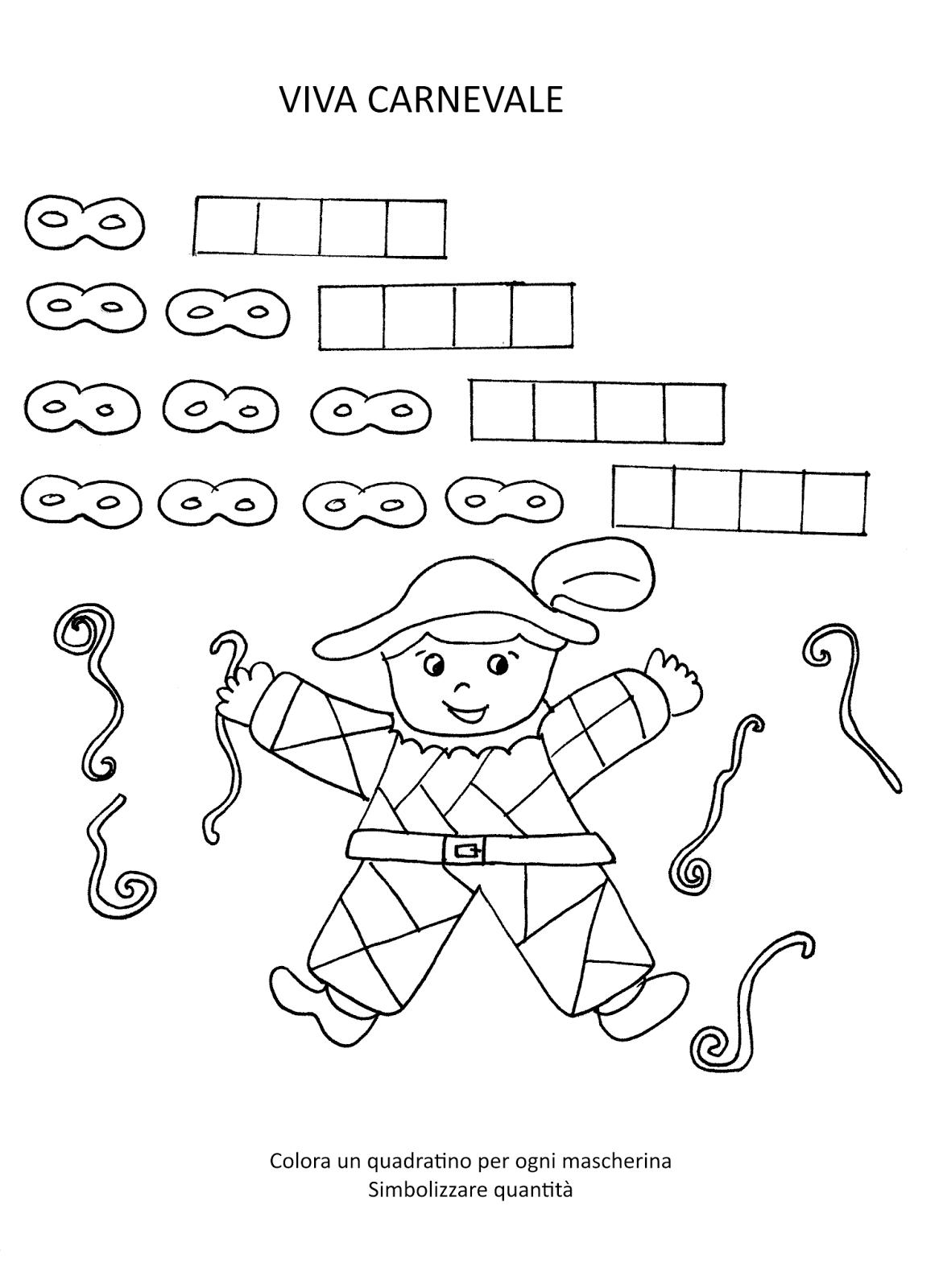 Blog scuola schede didattiche scuola dell 39 infanzia la for Maestra mary carnevale