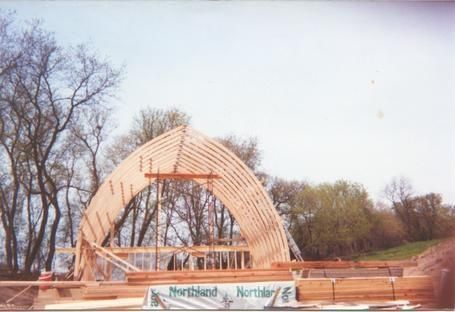 Gothic Rafters Laminated Gothic Arch Building Starwood
