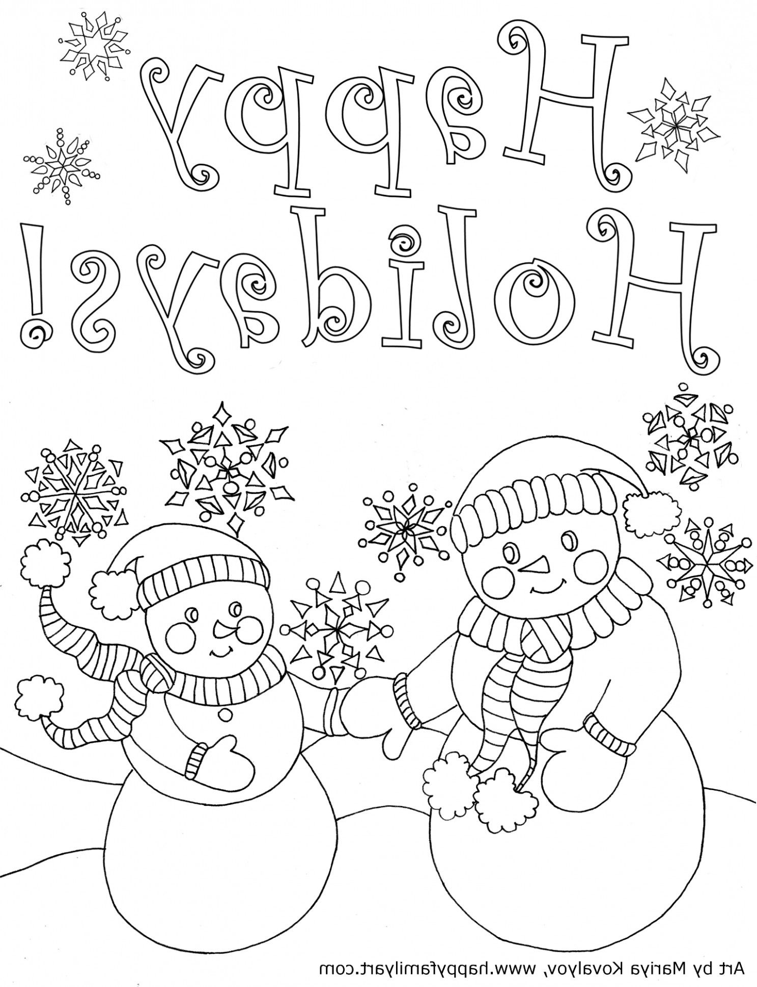 The Modern Rules Of Coloring Holiday Pages Coloring Cool Coloring Pages Printable Christmas Coloring Pages Christmas Coloring Cards [ 1940 x 1487 Pixel ]